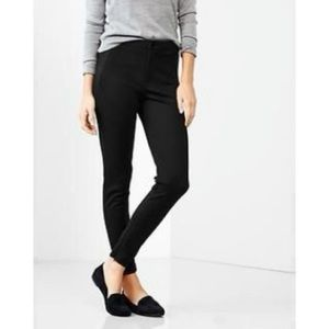 GAP 5 Pocket Ponti Leggings Black Size 0